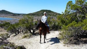 keeva adopted trail riding